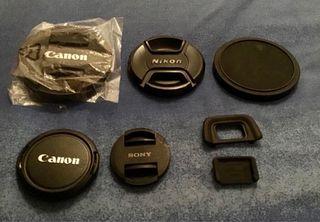 Lote tapas para cámaras