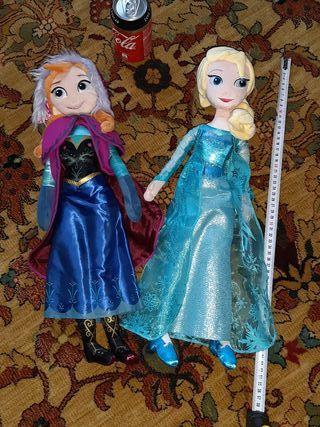 muñecas Frozen. peluche