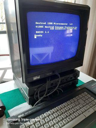 Amstrad CPC 6128 con monitor color