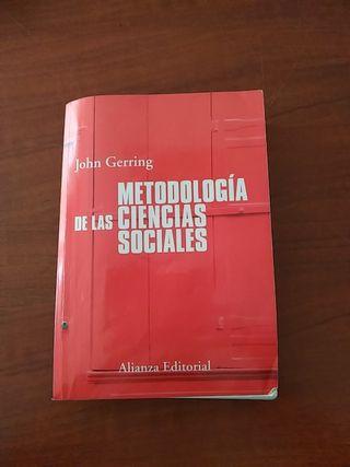 Vendo libro metodologia ciencias sociales uned