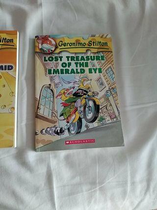 libros en inglés de Gerónimo Stilton!