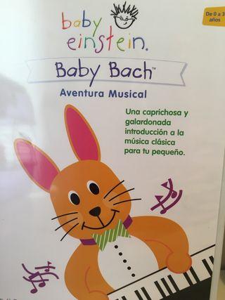 Pack 2 DVD per bebes Babyeinstein
