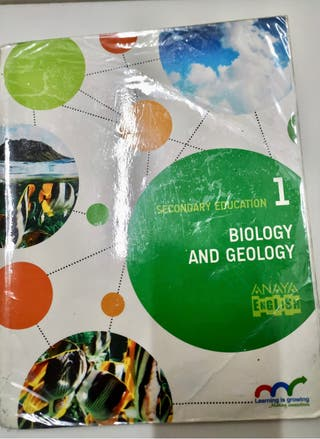 Biology and geology 1ESO