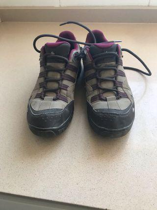 Zapatillas treking mujer marca quechua