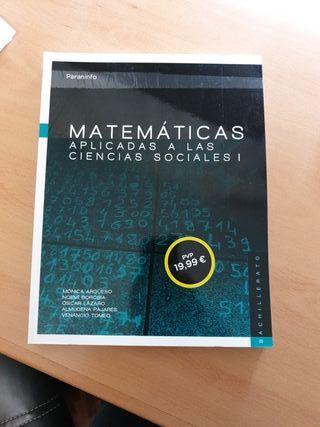 MATEMÁTICAS APLICADAS A LAS CIENCIAS SOCIALES I