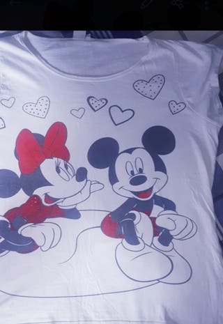 camiseta blanca de Disney Mickey Mouse
