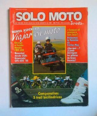 Revista Solo Moto Treinta 54