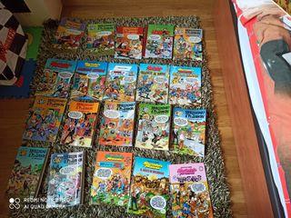 Comics, Mortadelo y Filemón ,Los Pitufos y Astérix