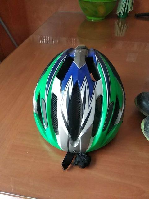 zapatillas MTB + casco