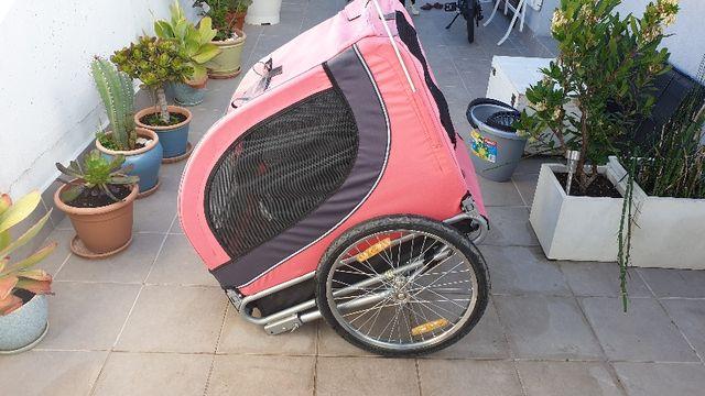 Remolque Bicicleta perros mascota