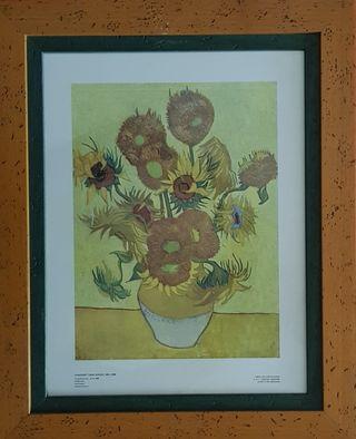 Cuadro Girasoles de Van Gogh