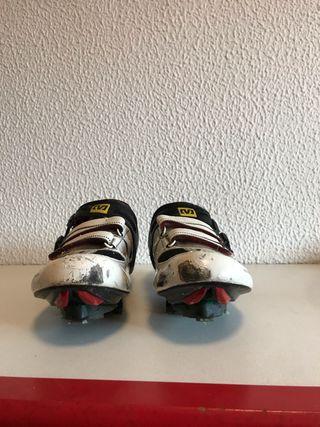 Zapatillas Mavic + Pedales y calas Time