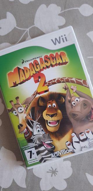 Madagascar 2 para Wii
