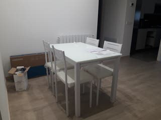 mesa comedor abatible