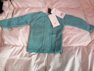 Jersey Tricot 6 M con etiqueta. Tutto Piccolo