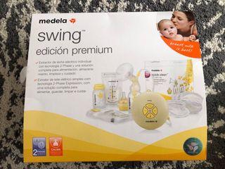 Medela swing premium extractor leche electrico