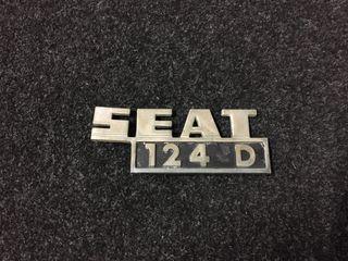 Emblema Seat 124 D
