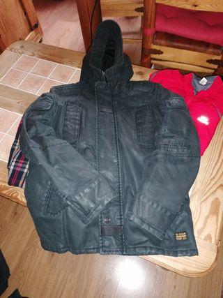 abrigo G - Star con capucha