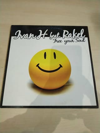 Vinilo Ivan H feat Rakel Free tour soul