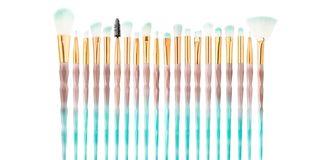 Diamond makeup brush sets