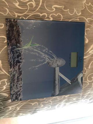 Báscula digital baño
