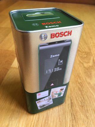 Medidor LÁSER Bosch Zamo. Nuevo