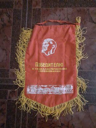 banderín de antigua unión soviética.