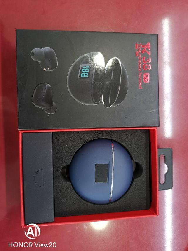 Auriculares Bluetooth K38 nuevos sin estrenar.