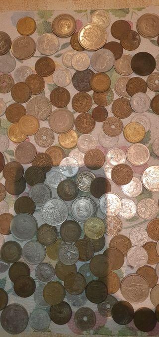 monedas antiguas de españa,república,y extranjeras