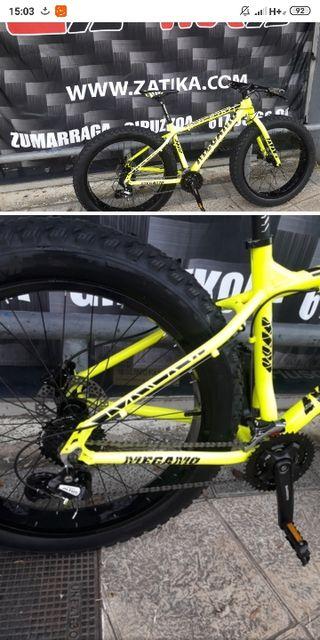 bicicleta fat bike megamo