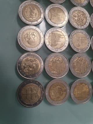 monedas 2 euros €