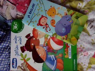 lote 2 libros infantiles
