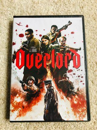 """Película DVD """"Overload"""" nueva"""