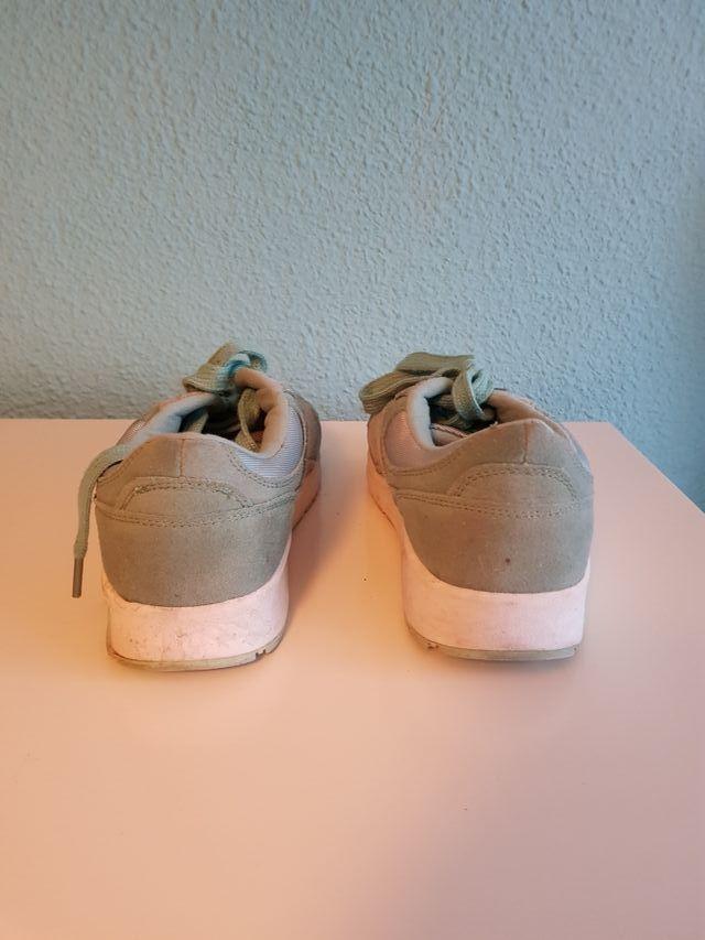 Zapatillas verde menta