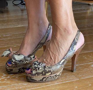 Vendo sandalias de Prada