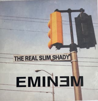 CD Single Eminem The Real Slim Shady