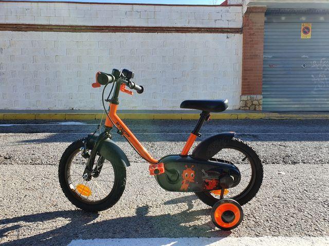 bicicleta niñ@ 3-4,5años