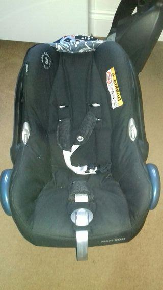 car seat + isofix