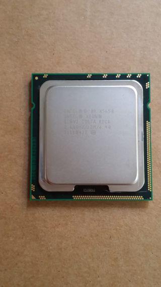 Intel XEON X5650, es para zócalo 1366