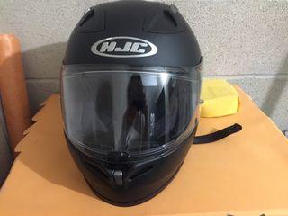 Casco moto de HJC talla XS negro mate