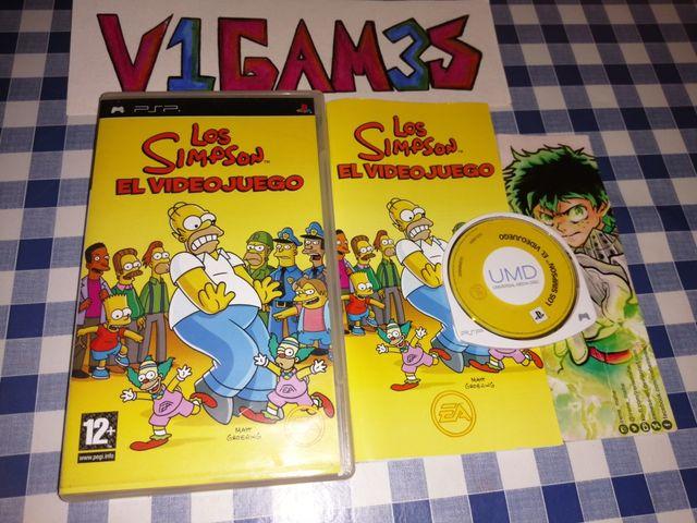 Los Simpson el videojuego PsP EN español COMPLETO