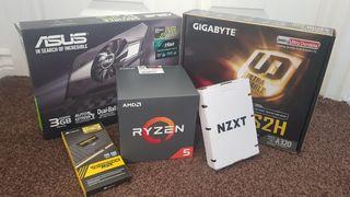 GAMING PC RYZEN 5 1600 GTX 1060 3GB