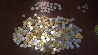 1,2 kg de monedas de pesetas de Juan Carlos I