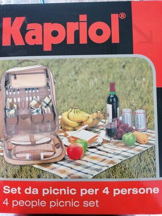 Set de picnic para 4 personas Kapriol