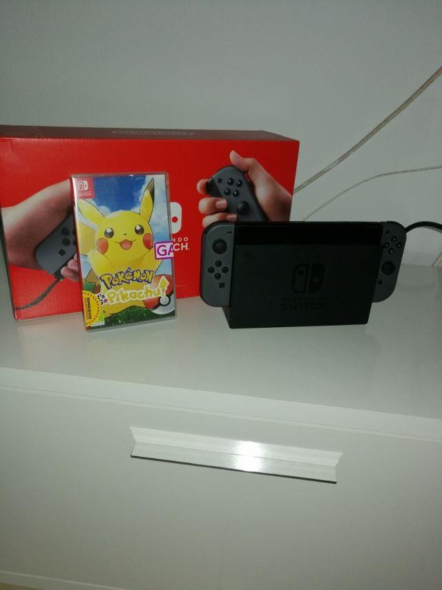 vendo Nintendo switch impecable