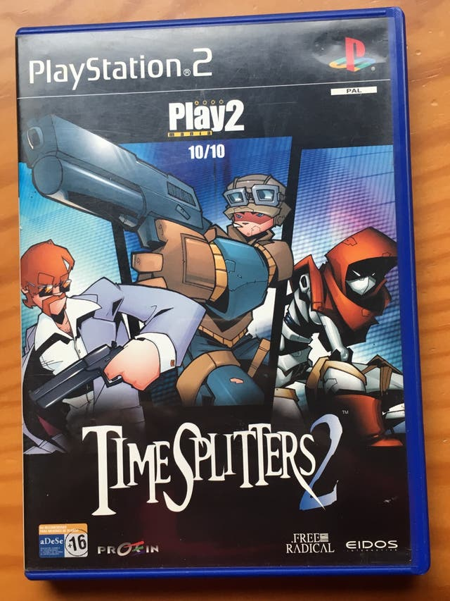 Time splitters 2 para ps2