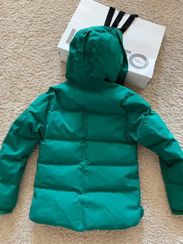 KENZO Chaqueta plumon abrigo impermeable M