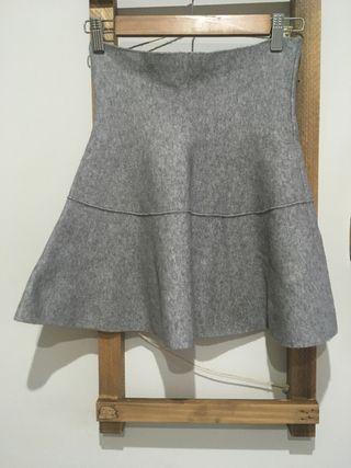 Falda mini Zara