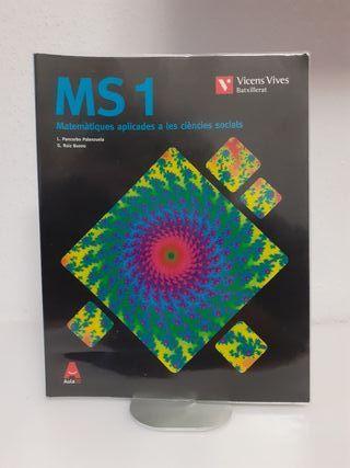 Libro Matemáticas Ciencias Sociales 1°Bachillerato