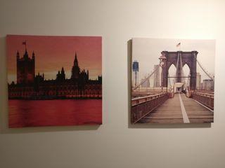 Cuadros de Londres y Nueva York
